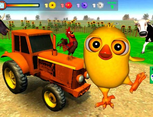 Juego del Pollito y el Tractor de la Granja